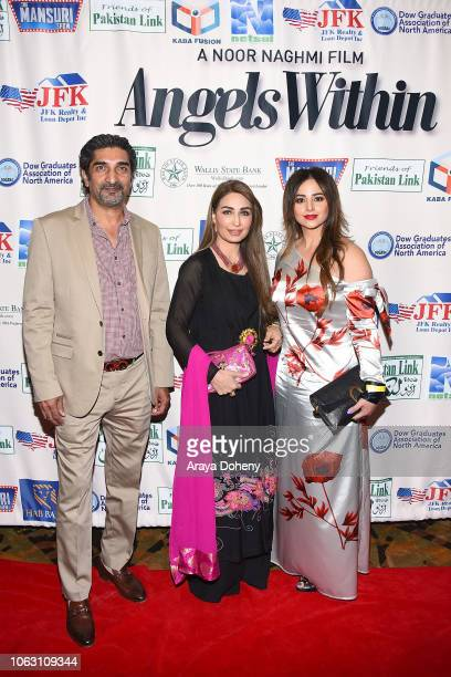 Reema Khan and guests attend the premiere of Angels Within By Pakistan Link/Mansuri Show/Ary TV on November 17 2018 in West Hollywood California