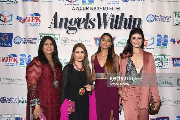 Reema Khan Pooja Batra and guests attend the premiere of Angels Within By Pakistan Link/Mansuri Show/Ary TV on November 17 2018 in West Hollywood...