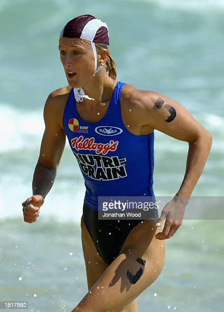 Reen Corbett in action during the Womens Ironwoman final during the Kellogg's NutriGrain IronMan Series Trials held at Coolongatta Beach on the Gold...