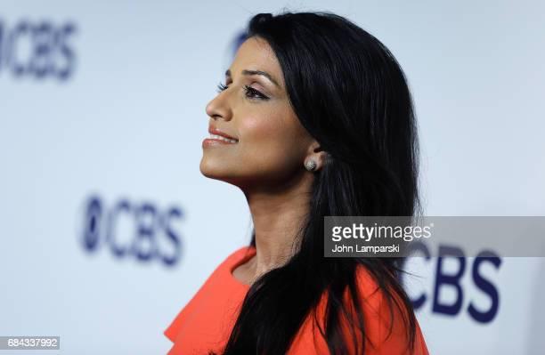 Reena Ninan attends 2017 CBS Upfron at The Plaza Hotel on May 17 2017 in New York City