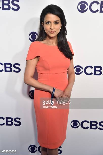 Reena Ninan attends the 2017 CBS Upfront on May 17 2017 in New York City