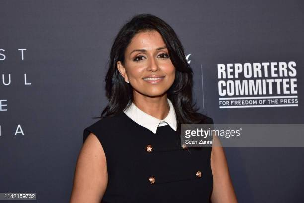 Reena Ninan attends The Hollywood Reporter Celebrates The Most Powerful People In Media at The Pool on April 11 2019 in New York City