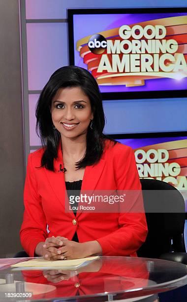 AMERICA Reena Ninan on Good Morning America 10/9/13 airing on the Walt Disney Television via Getty Images Television Network REENA