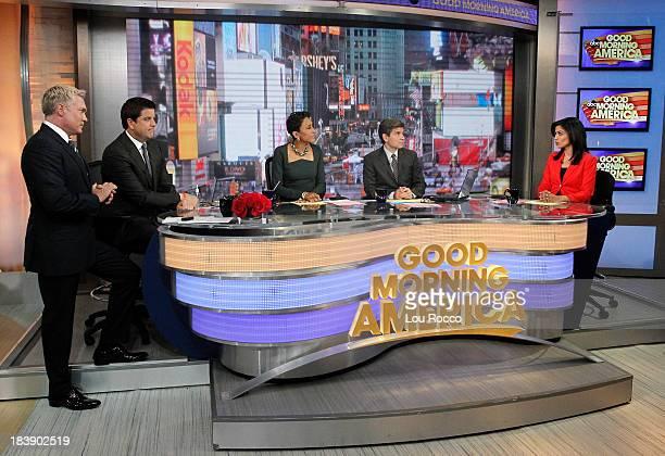 AMERICA Reena Ninan on Good Morning America 10/9/13 airing on the Walt Disney Television via Getty Images Television Network SAM