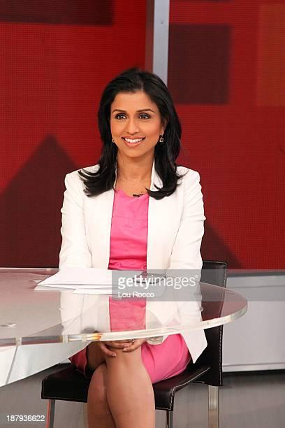 AMERICA Reena Ninan on Good Morning America 11/13/13 airing on the Walt Disney Television via Getty Images Television Network REENA