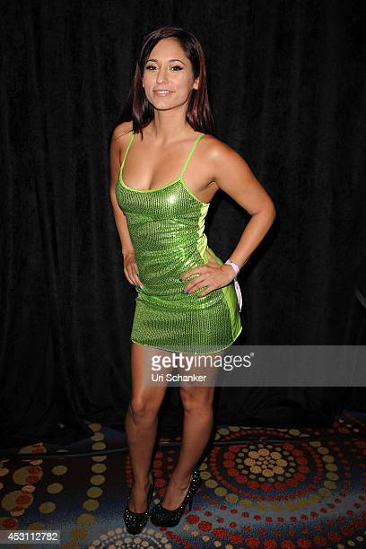 Reena Sky attends Camming Con In South Beach at Eden Roc Hotel on August 2 2014 in Miami Beach Florida