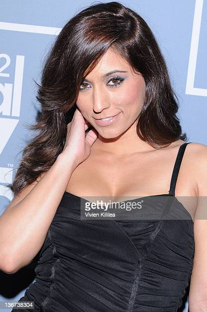 Reena Sky attends the 10th Annual XBIZ Awards at The Barker Hanger on January 10 2012 in Santa Monica California