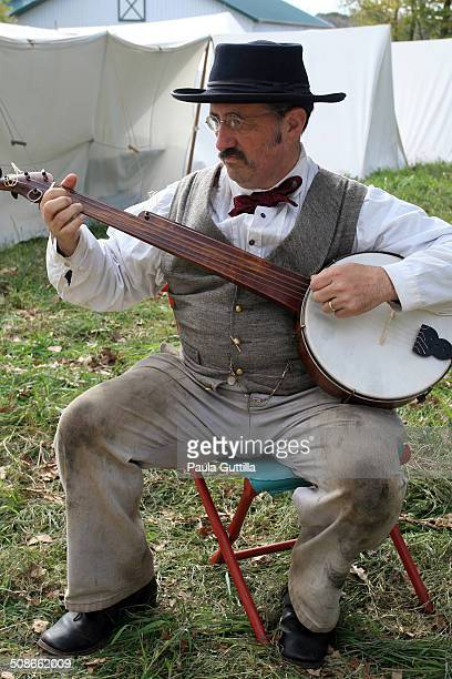 Reenactment Civil War Battle of Wilson Creek 8/10/1861 Dillinger Family Farm Channahon IL