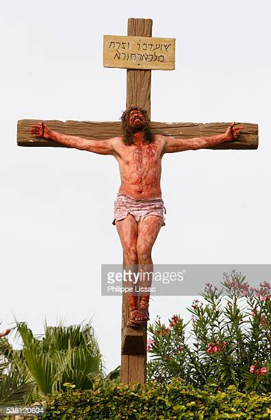 Reenactment of Crucifixion of Jesus Christ at Holy Land Experience