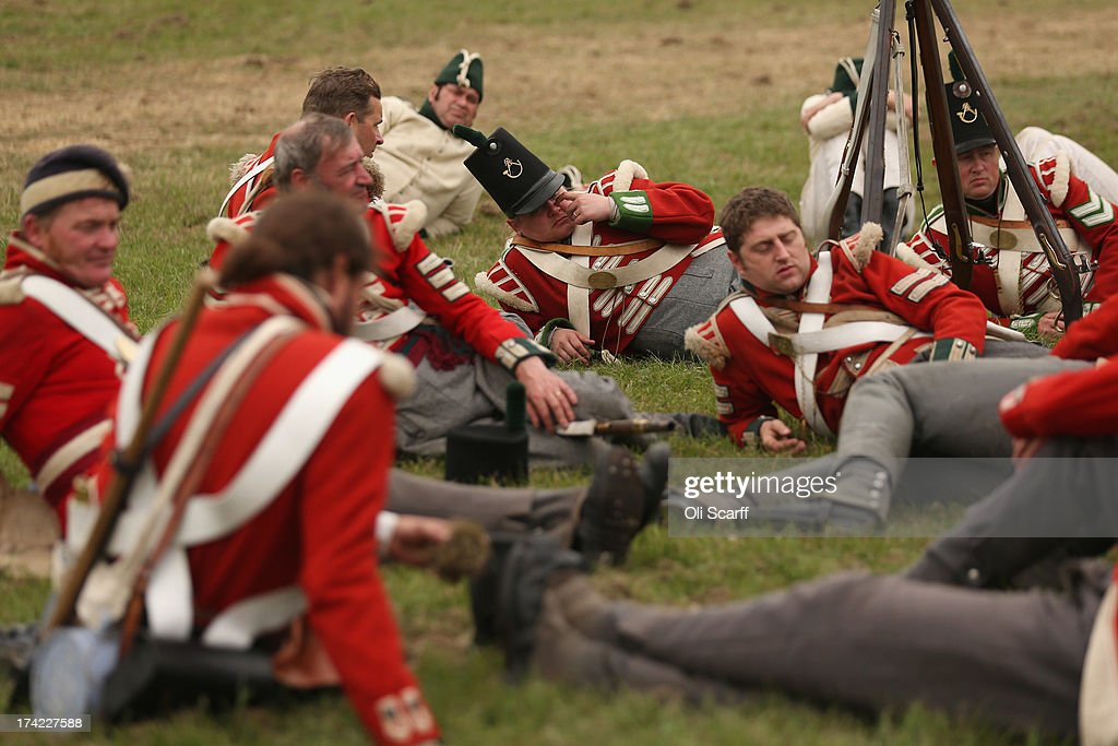 Two Thousand Re-Enactors Participate In English Heritage History Live! : News Photo