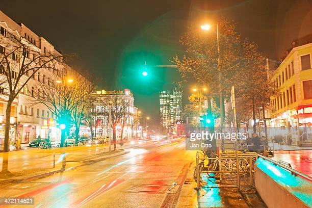 reeperbahn in hamburg - reeperbahn stock pictures, royalty-free photos & images