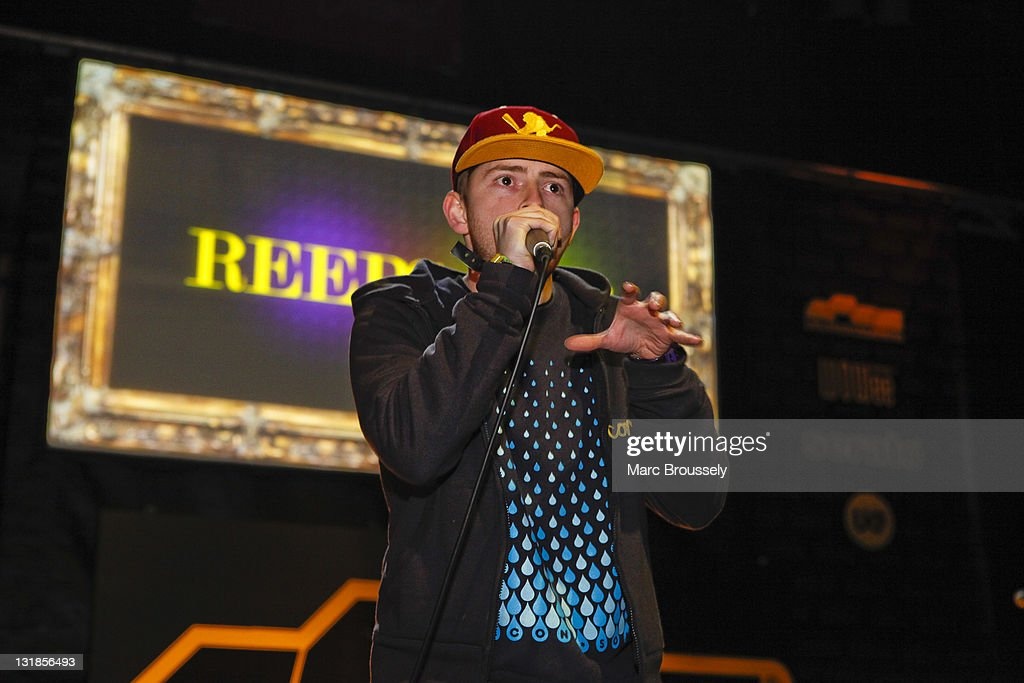 Reeps One performs on stage at the Drum&BassArena Awards 2010 at