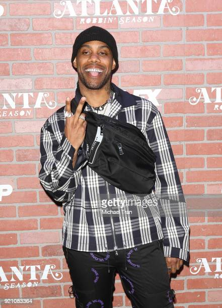 Reese LAFLARE arrives at FX's Atlanta Robbin' Season Los Angeles premiere held at Ace Theater Downtown LA on February 19 2018 in Los Angeles...