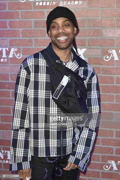 Reese LaFlare attends FX's Atlanta Robbin' Season Premiere Arrivals at Ace Theater Downtown LA on February 19 2018 in Los Angeles California