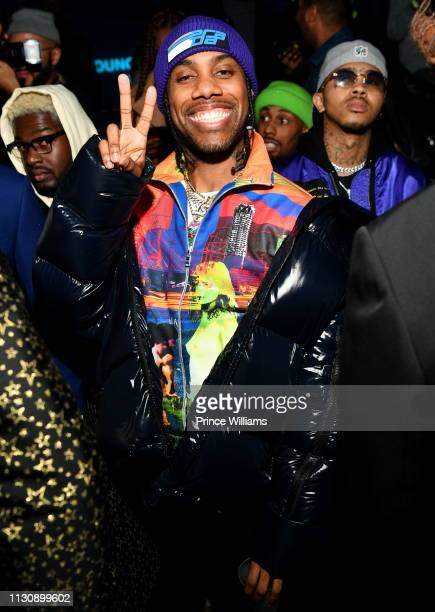 Reese Laflare attends Gunna Drip or Drown 2 A Listening Experience at Georgia Aquarium on February 19 2019 in Atlanta Georgia