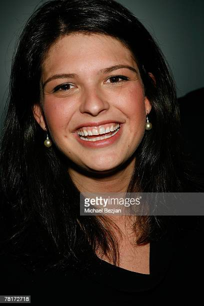 Reese Lasher poses at the Still Thankful Still Giving Charity Event on November 29 2007 at Cinespace in Hollywood California