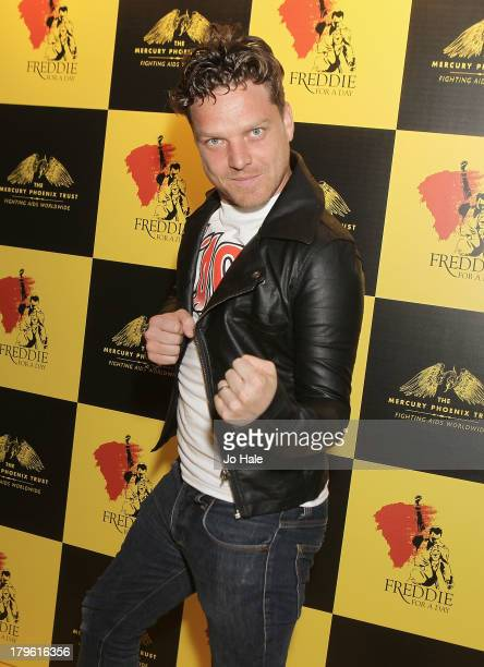 Reese Thomas attends the Freddie for a Day charity event in aid of The Mercury Phoenix Trust at The Savoy Hotel on September 5 2013 in London England