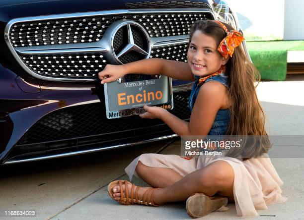 Reese Warren and MercedesBenz of Encino at TAP The Artists Project Giveback Day on August 16 2019 in Los Angeles California