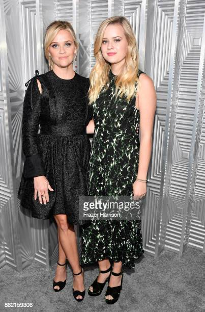 Reese Witherspoon and Ava Phillippe attend ELLE's 24th Annual Women in Hollywood Celebration presented by L'Oreal Paris Real Is Rare Real Is A...