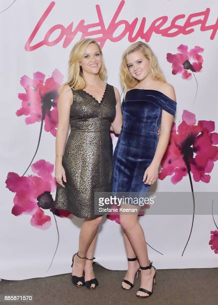 Reese Witherspoon and Ava Phillippe attend Molly R Stern X Sarah Chloe Jewelry Collaboration Launch Dinner on December 4 2017 in West Hollywood...