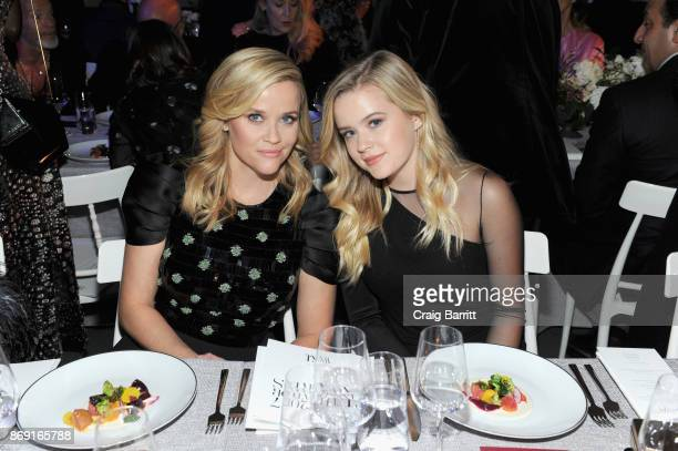 Reese Witherspoon and Ava Phillippe attend the WSJ. Magazine 2017 Innovator Awards at MOMA on November 1, 2017 in New York City.
