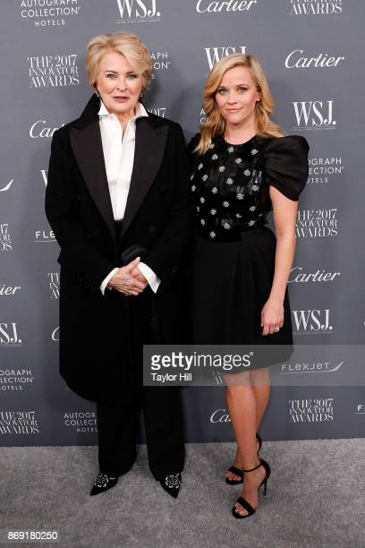 Reese Witherspoon and Candice Bergen attend the 2017 WSJ Magazine Innovator Awards at Museum of Modern Art on November 1 2017 in New York City