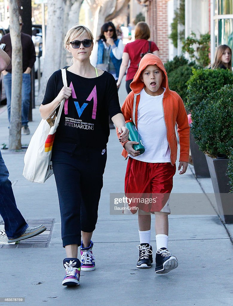 Celebrity Sightings In Los Angeles - January 18, 2014
