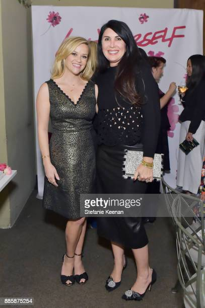 Reese Witherspoon and Estee Stanley attend Molly R Stern X Sarah Chloe Jewelry Collaboration Launch Dinner on December 4 2017 in West Hollywood...