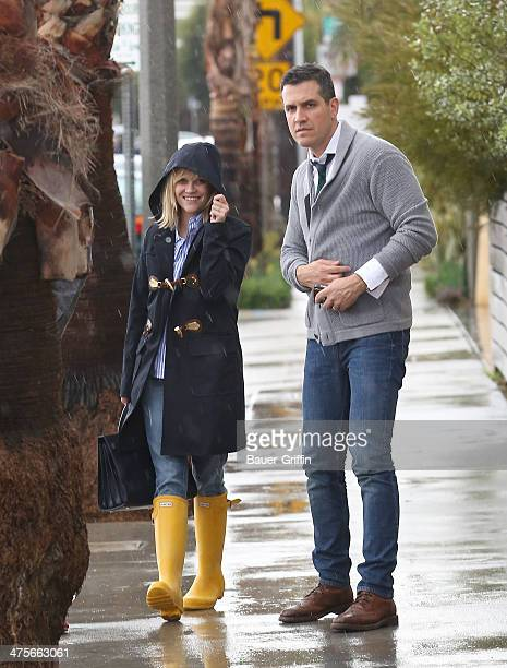 Reese Witherspoon and Jim Toth are seen on February 28, 2014 in Los Angeles, California.