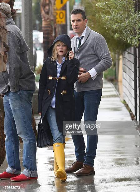 Reese Witherspoon and Jim Toth are seen on February 28 2014 in Los Angeles California