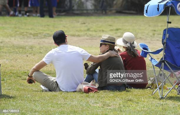 Reese Witherspoon and Jim Toth are seen on May 18 2013 in Los Angeles California