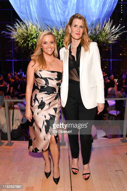 "Reese Witherspoon and Laura Dern attend the ""Big Little Lies"" season 2 premiere after party on May 29, 2019 in New York City."