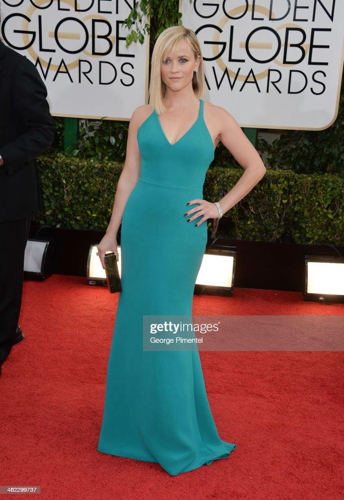 71st Annual Golden Globe Awards - Arrivals : News Photo