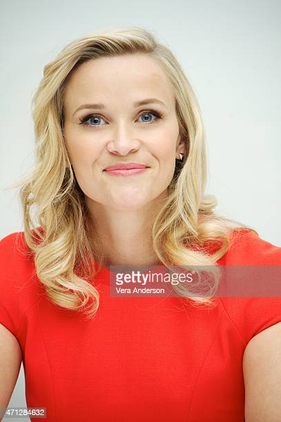 Reese Witherspoon at the 'Hot Pursuit' Press Conference at the Four Seasons Hotel on April 25 2015 in Beverly Hills California