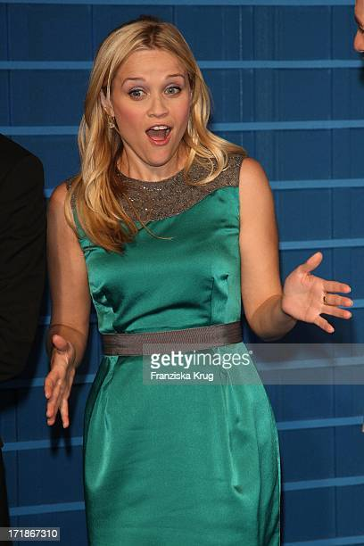 Reese Witherspoon at the premiere of 'Monsters Vs Aliens' in Colosseum Kino in Berlin on 090309