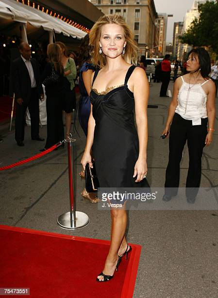 Reese Witherspoon at the Roy Thompson Hall in Toronto, Canada.