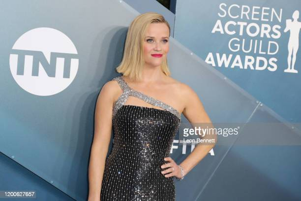Reese Witherspoon attends 26th Annual Screen Actors Guild Awards at The Shrine Auditorium on January 19, 2020 in Los Angeles, California.