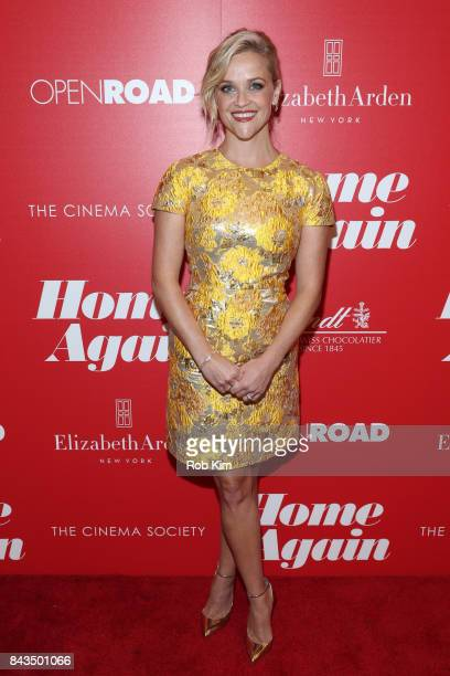 Reese Witherspoon attends a screening of Open Road Films' 'Home Again' hosted by The Cinema Society at The Paley Center for Media on September 6 2017...