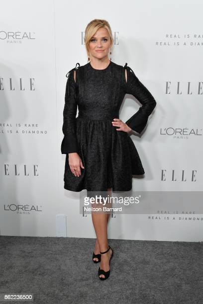 Reese Witherspoon attends ELLE's 24th Annual Women in Hollywood Celebration presented by L'Oreal Paris Real Is Rare Real Is A Diamond and CALVIN...