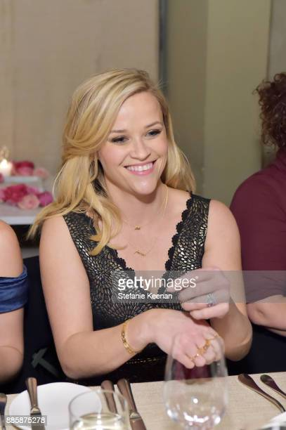 Reese Witherspoon attends Molly R Stern X Sarah Chloe Jewelry Collaboration Launch Dinner on December 4 2017 in West Hollywood California