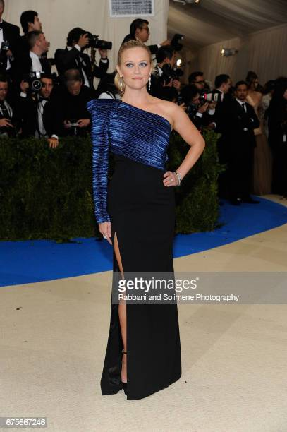 Reese Witherspoon attends 'Rei Kawakubo/Comme des Garcons Art Of The InBetween' Costume Institute Gala Arrivals at Metropolitan Museum of Art on May...