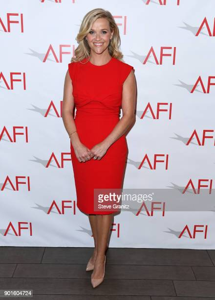 Reese Witherspoon attends the 18th Annual AFI Awards at Four Seasons Hotel Los Angeles at Beverly Hills on January 5 2018 in Los Angeles California