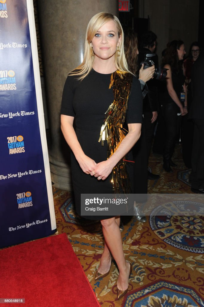 Reese Witherspoon attends The 2017 IFP Gotham Independent Film Awards co-sponsored by Landmark Vineyards at Cipriani Wall Street on November 27, 2017 in New York City.