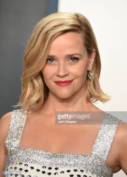 Reese Witherspoon attends the 2020 Vanity Fair Oscar Party hosted by Radhika Jones at Wallis Annenberg Center for the Performing Arts on February 09,...