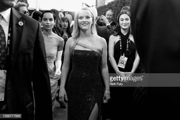 Reese Witherspoon attends the 26th Annual Screen Actors Guild Awards at The Shrine Auditorium on January 19 2020 in Los Angeles California