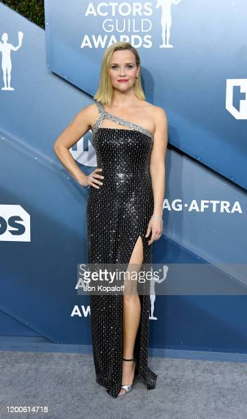 Reese Witherspoon attends the 26th Annual Screen Actors Guild Awards at The Shrine Auditorium on January 19, 2020 in Los Angeles, California.