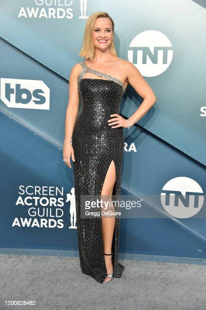 Reese Witherspoon attends the 26th Annual Screen ActorsGuild Awards at The Shrine Auditorium on January 19 2020 in Los Angeles California 721430