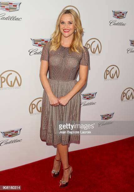 Reese Witherspoon attends the 29th Annual Producers Guild Awards at The Beverly Hilton Hotel on January 20 2018 in Beverly Hills California
