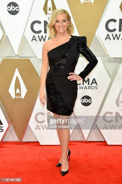 Reese Witherspoon attends the 53rd annual CMA Awards at the Music City Center on November 13 2019 in Nashville Tennessee