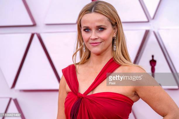 Reese Witherspoon attends the 93rd Annual Academy Awards at Union Station on April 25, 2021 in Los Angeles, California.
